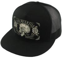 Lucky 13 The Dead Skull Snapback Trucker Hat