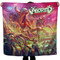 "Aborted Terrorvision Fabric Poster 48"" x 48"""