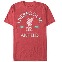 FC Liverpool Vintage Reds Slim-Fit T-Shirt