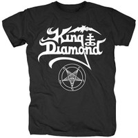 King Diamond Name Logo T-Shirt
