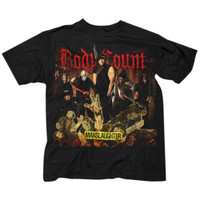 Body Count 2015 European Tour Slim-Fit T-Shirt