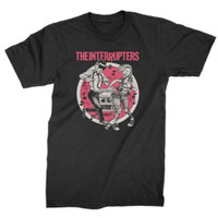 The Interrupters Color Dancing Couple Slim-Fit T-Shirt