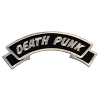 Kreepsville 666 Arch Death Punk Embroidered Patch
