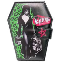 Kreepsville 666 Elvira Leo Luggage Coffin Wallet