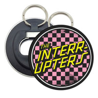The Interrupters Checkered Bottle Opener Key Chain