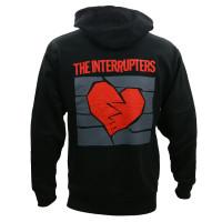 The Interrupters Broken Heart Zip-Up Hoodie