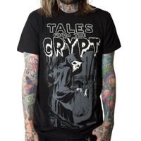 Kreepsville 666 Tales From The Crypt Grim Reaper T-Shirt