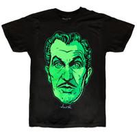 Kreepsville 666 Vincent Price Classic Face T-Shirt