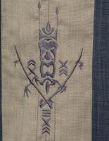 Steady Clothing Tiki N Bamboo Bowling Shirt Charcoal
