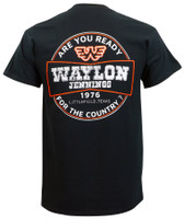 Waylon Jennings Are You Ready T-Shirt