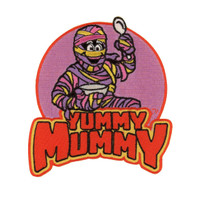 Retro A Go Go General Mills Yummy Mummy Embroidered Patch