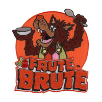 Retro A Go Go General Mills Frute Brute Embroidered Patch