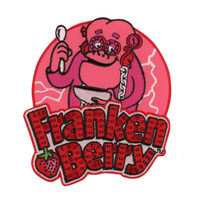 Retro A Go Go General Mills Franken Berry Embroidered Patch