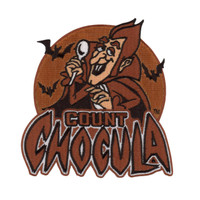 Retro A Go Go General Mills Count Chocula Embroidered Patch