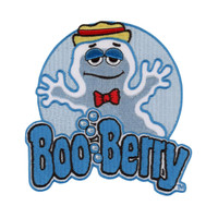 Retro A Go Go General Mills Boo Berry Embroidered Patch
