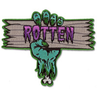 Retro A Go Go Rotten Embroidered Patch