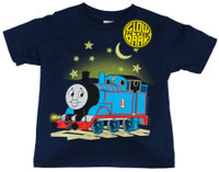 Thomas The Tank Engine Glow In The Dark Youth T-Shirt Navy