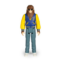 "Super7 Teen Wolf Scott Howard Letterman ReAction Figure 3.75"""