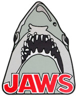 Universal Jaws Embroidered Iron On Back Patch