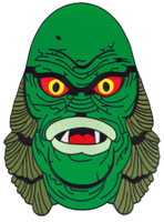 Universal Monsters Creature Head Embroidered Iron On Back Patch