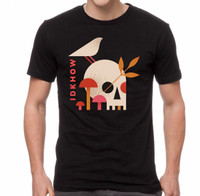 I Don't Know How But They Found Me Mushroom Skull T-Shirt