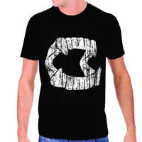 Rock Rebel Vintage Fangs T-Shirt
