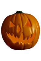 Halloween 6 Light Up Pumpkin Prop