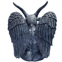 Kreepsville 666 Goat Head Baphomet Salt & Pepper Shakers