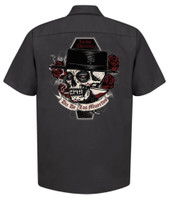 Lucky 13 Muerto Work Shirt