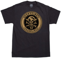 Lucky 13 Caffeine & Gasoline T-Shirt