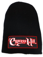 Cypress Hill Script Logo Patch Slouch Beanie