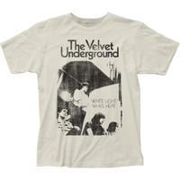 Velvet Underground White Light White Heat Slim Fit T-Shirt