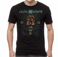 Five Finger Death Punch Iron Skull T-Shirt