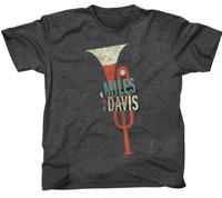 Miles Davis Trumpet Slim Fit T-Shirt