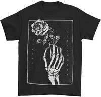 Asking Alexandria Skeleton Rose T-Shirt