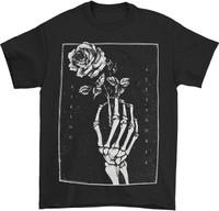 Asking Alexandria Skeleton Rose T-Shirt