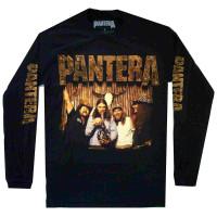 Pantera Bong Group Long Sleeve T-Shirt Black