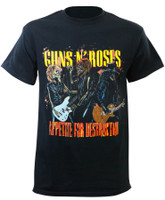 Guns N Roses Appetite for Destruction T-Shirt Black