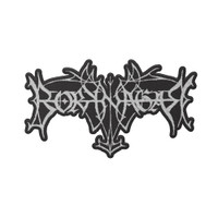 Borknagar Die Cut Logo Embroidered Patch