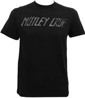 Motley Crue Logo T-Shirt Black