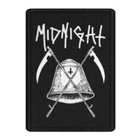 Midnight Bell Embroidered Patch
