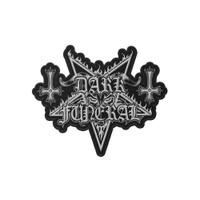 Dark Funeral Die Cut Logo Patch