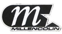 Millencolin M-Star Logo Patch