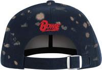 David Bowie Lightning Bolt Bleached Dad Hat