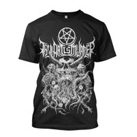Thy Art Is Murder Riddick Skull Pile T-Shirt