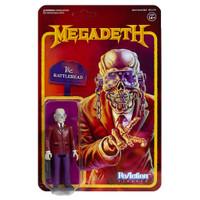 Super7 Megadeth ReAction Vic Rattlehead Action Figure