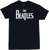 Beatles Solid Logo Slim Fit T-Shirt