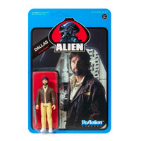 Super7 Aliens ReAction Dallas Wave 3 Blue Card Figure 3.75""