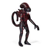 "Super7 Aliens ReAction Bloody Alien Open Mouth Wave 3 Blue Card Figure 3.75"""