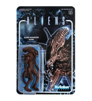 Super7 Aliens ReAction Alien Warrior B Dusk Brown Action Figure 3.75""